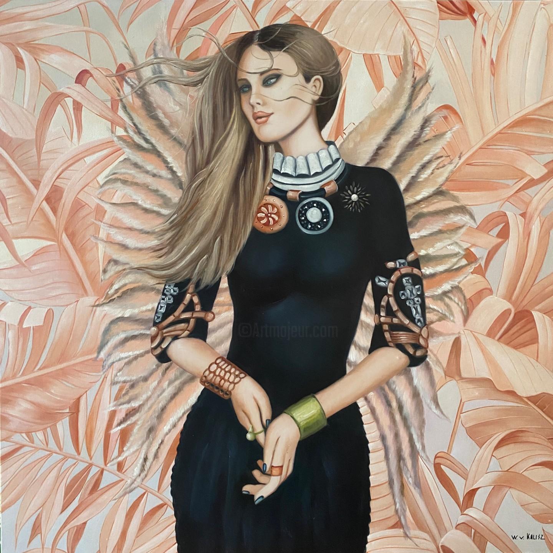 Wilhem Von Kalisz - Wings of pink